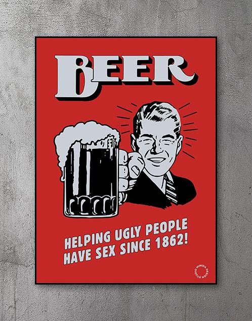 Plakat - Beer