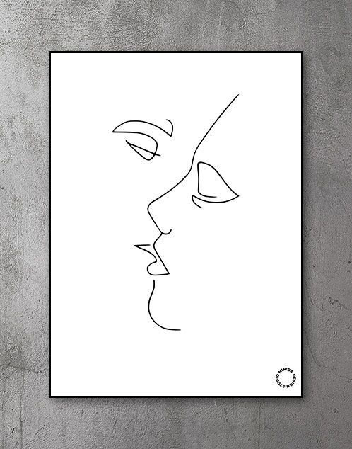 Plakat - Kiss