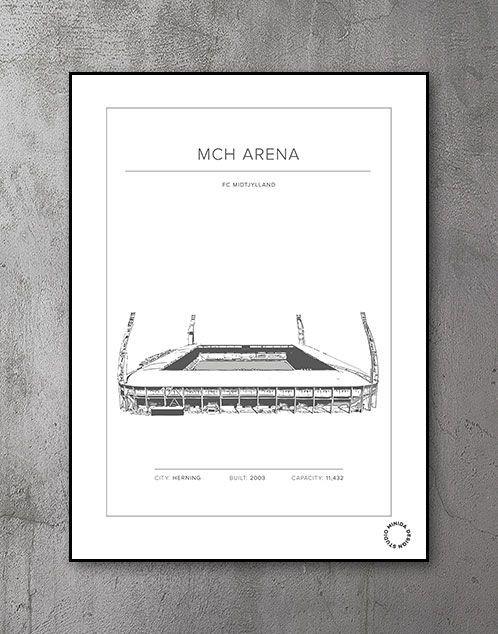Plakat - MCH Arena - FC Midtjylland