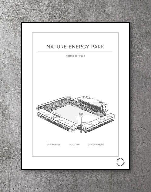 Plakat - Nature Energy Park - Odense Boldklub OB