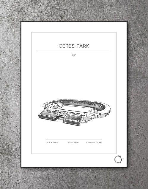 Plakat - Ceres Park - AGF