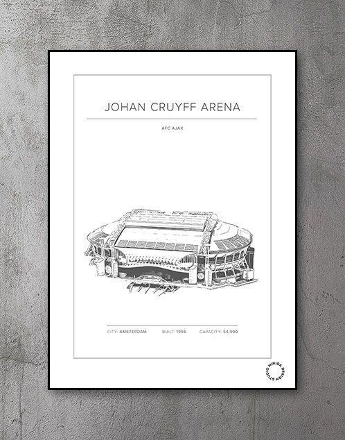 Plakat - Johan Cruyff Arena