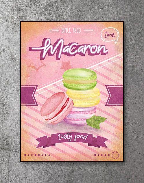 Plakater Macaron