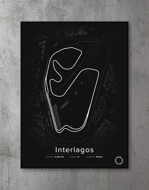 Interlagos Plakat
