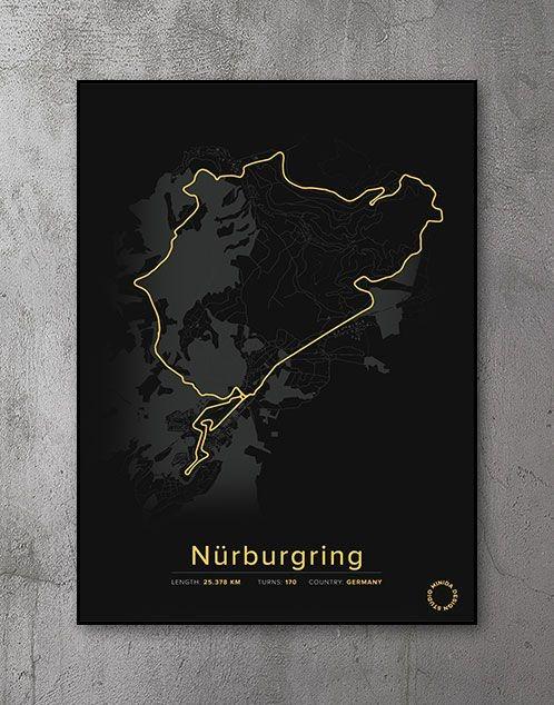 Nürburgring Plakat