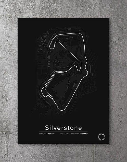 Silverstone Plakat