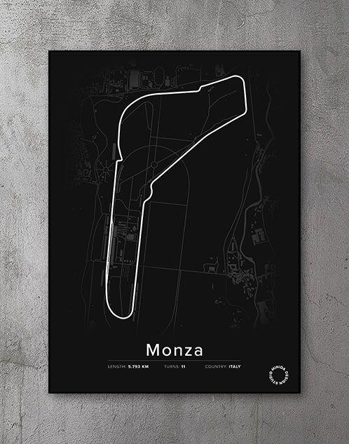 Monza Plakat