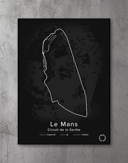 Le Mans Plakat