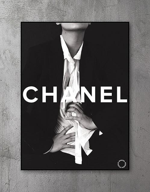 Coco Chanel Plakat