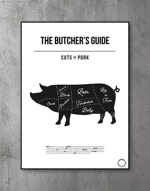 Butchers guide plakat