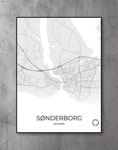 Plakat Sønderborg