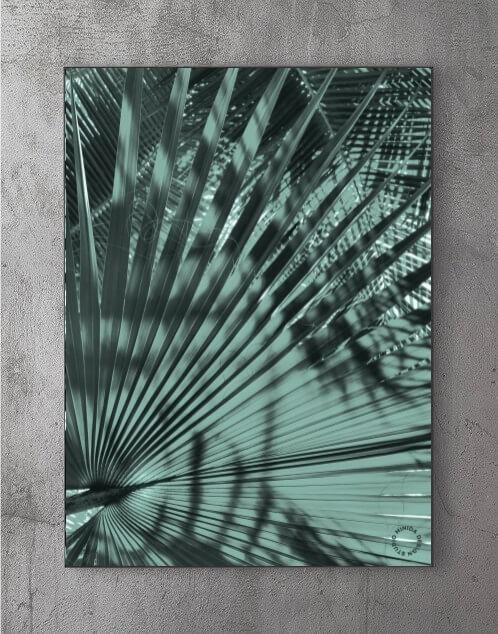 Billeder til stuen - Palme