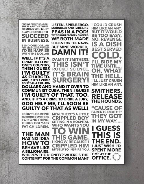 Plakater med citater - burns 2