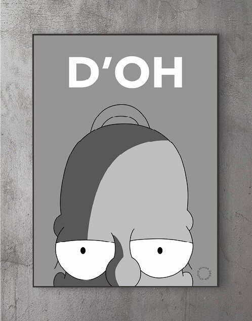 Plakater med citater - homer