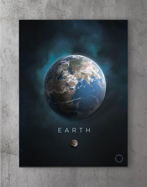 Billeder til væggen - jorden