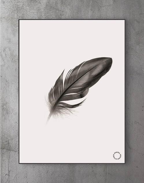 Billeder til stuen - feather2