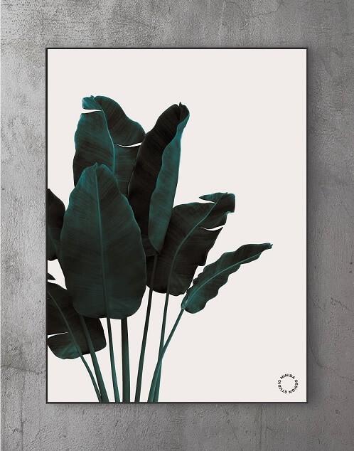 Billeder til stuen - leaf