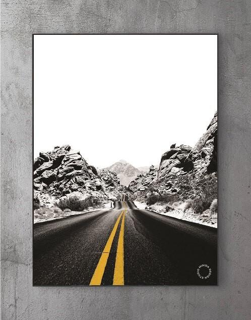 Billige Plakater - Road