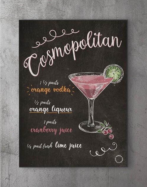 Plakater med citater - cosmopolitan