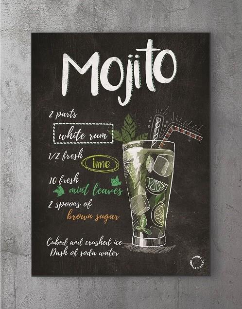 Plakater med citater - mojito