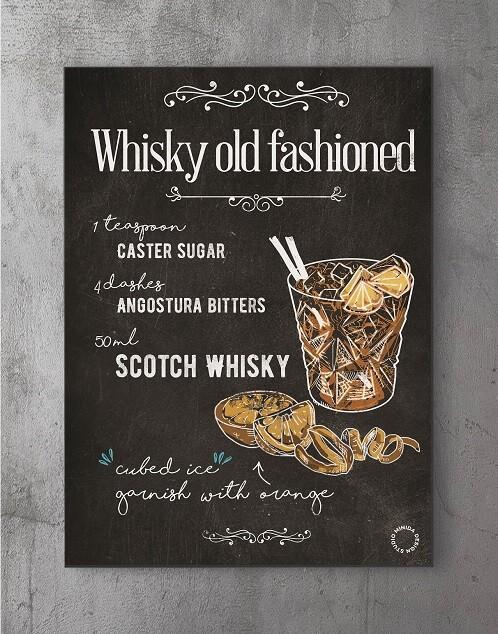 Plakater med citater - old whiskey