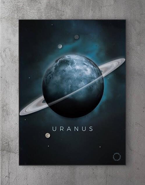 Billeder til væggen - uranus