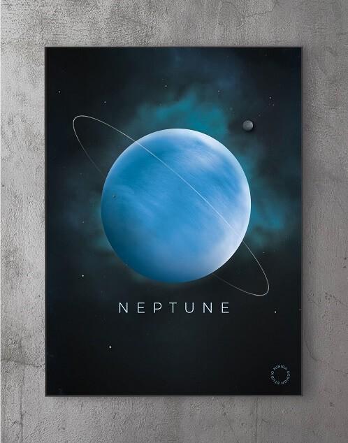 Billeder til væggen - neptun
