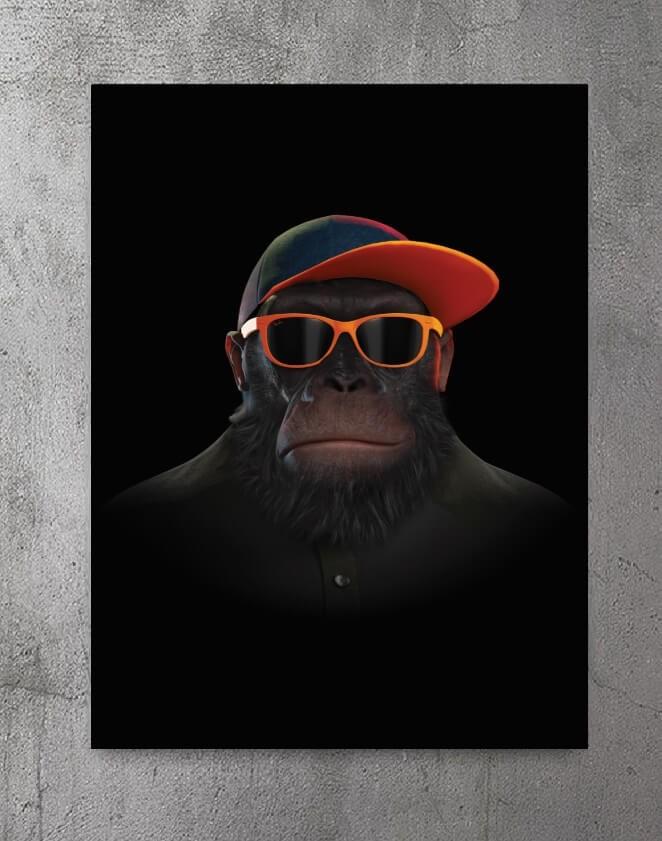 Plakat - Monkey No See