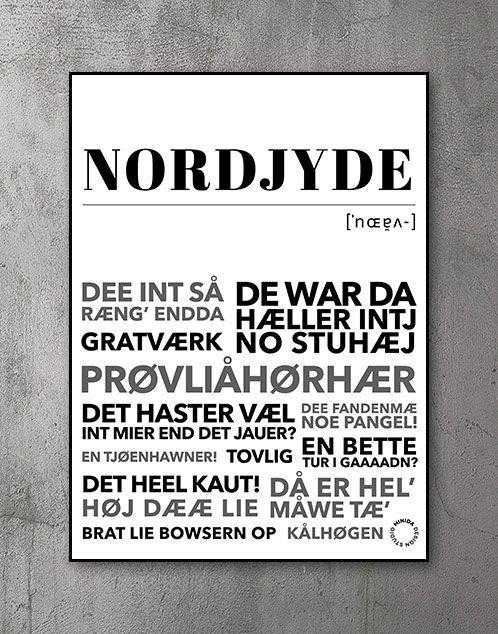 Plakat nordjyde - nordjylland