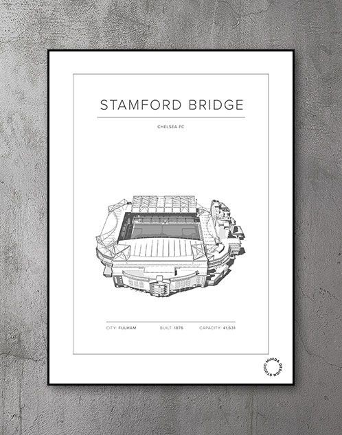 Plakat - Stamford Bridge - Chelsea FC